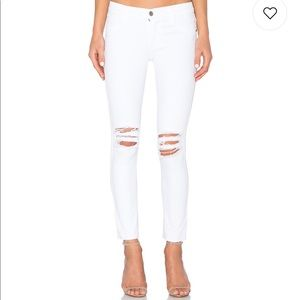 James Jeans Twiggy Ankle White